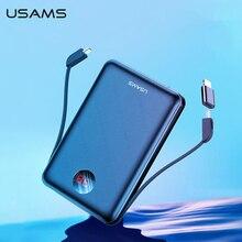USAMS Power Bank LED Display Mini Powerbank External Battery