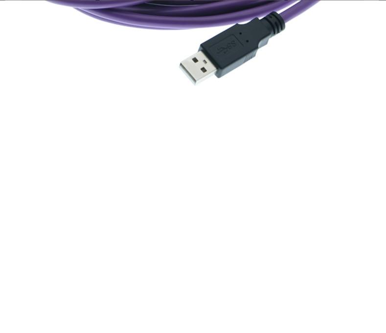 USB Industrial-grade de Alta-flex Cabo de Extensão
