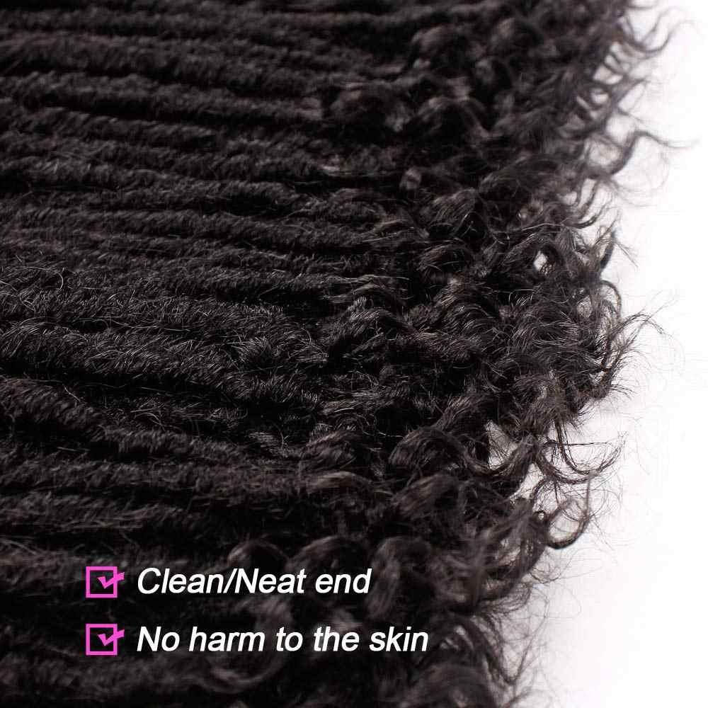 Godin Faux Locs Gehaakte Haar Steil Godin Locs Met Krullend Uiteinden Synthetische Gehaakte Haar Vlechten Voor Zwarte Vrouwen Smart Braid