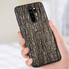Pattern Wood Textures Silicone phone case for Xiaom