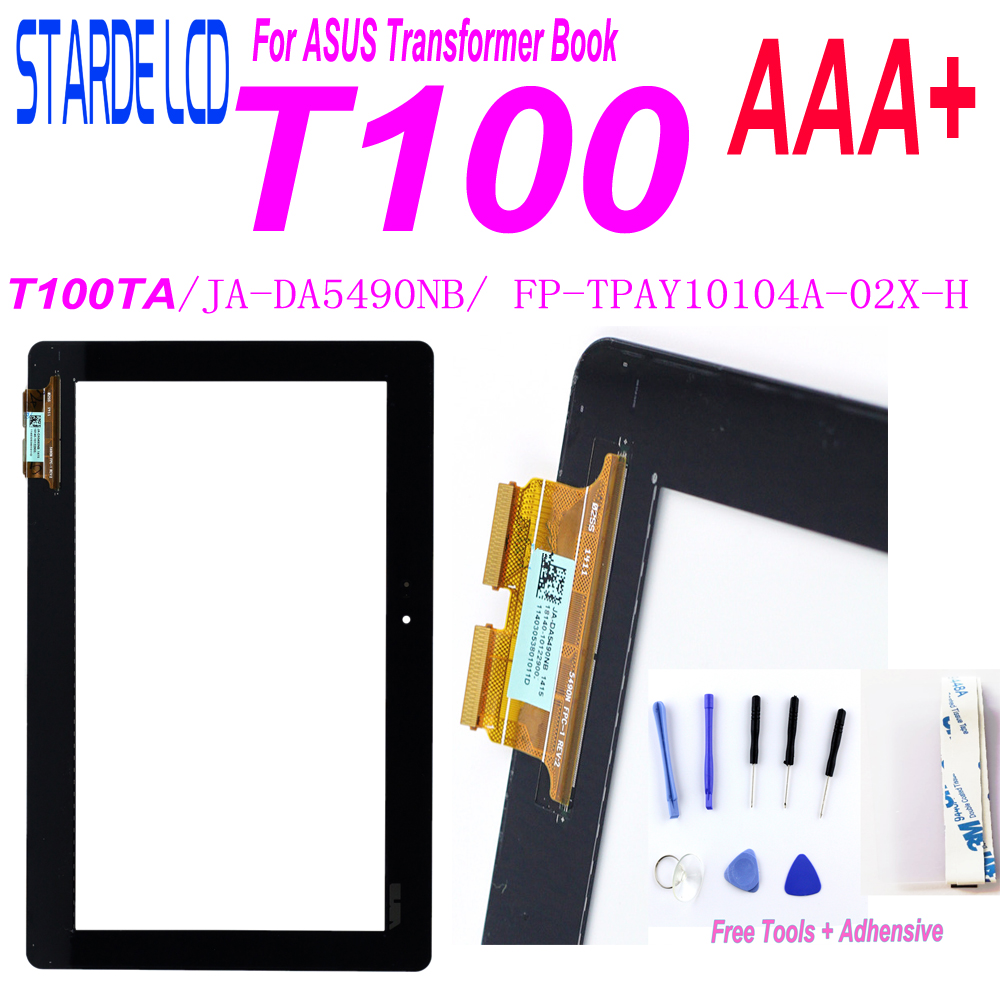 Starde 10.1 For ASUS Transformer Book T100 T100TA Touch Screen Digitizer Sensor Tablet PC Parts FP-TPAY10104A-02X-H JA-DA5490NB
