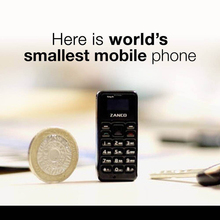 ZANCO tiny t1 World's Smallest Feature Cell Phone Unlocked Mini Mobile