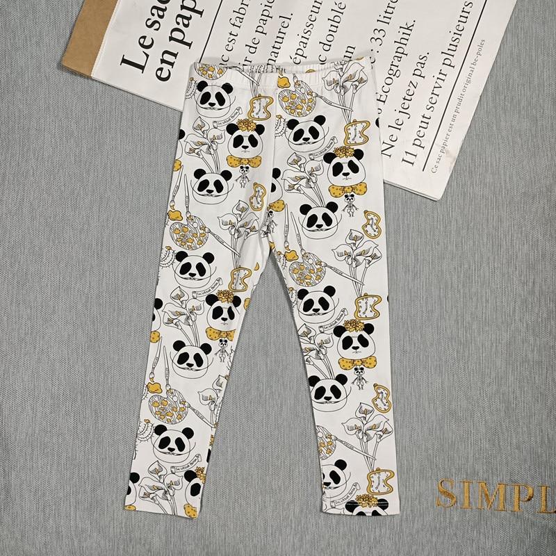 BOBOZONE Leopard PANDA SEAHORSES Dog leggings for kids boys girls 4