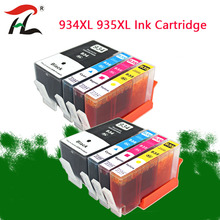 8PCS 934XL 935XL Ink Cartridge for HP934XL hp934  935 Officejet pro 6230 6830 6835 6812 6815 6820 printer