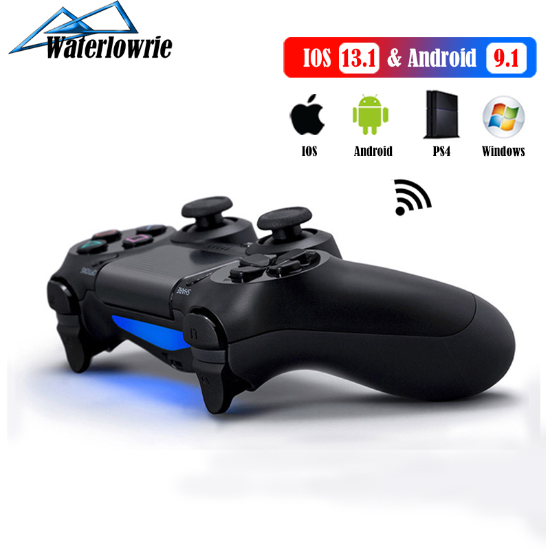 mando para PS4 / iPhone / PC / Android Teléfono Móvil Gamepad inalámbrica Bluetooth joystick para SONY mando ps4 inalgambrico Playstation 4 Controlador Dualshock 4 juego Consola Magia casa RGB WiFi controlador de LED DC 12V 24V para 5050 de 2835 RGB tira de LED de iOS Android Teléfono APP/Alexa Control por voz de Google