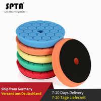 SPTA 4 (100mm)/6 (150 millimetri) /7 (180 millimetri) auto Spong Tamponi Per Lucidatura e Lucidatura Pastiglie Per DA/RO/GA 3 (80mm) /5 (125mm)/6 (150mm) Macchina Lucidatrice