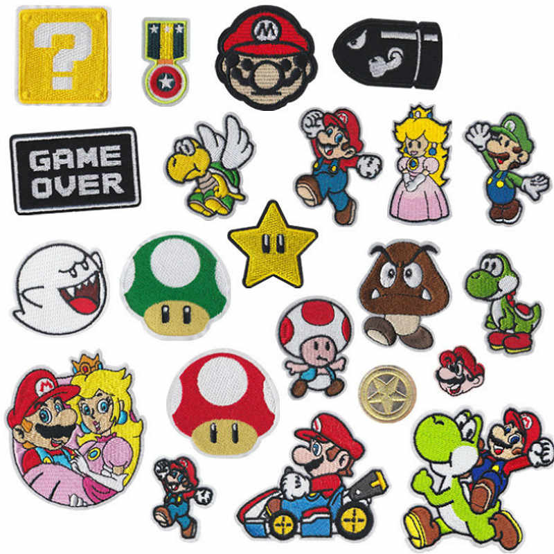 8pc//set Patch for girls Iron on Patch for boys Small patches Kid/'s patches
