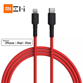 Original ZMI MFI certified usb type c to lightning cable for iPhone 11 xs xr 8 7 6 5 ipad charger PD18W fast charging 30cm 1m 3A