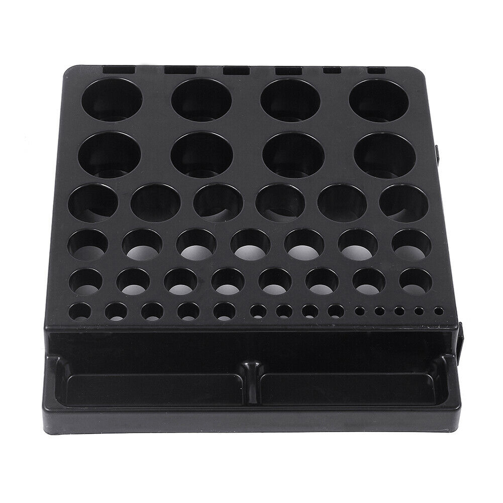 Lathe Tool Milling Probe Storage Box Collet Chuck Durable Inserts Parts Stand For Wrench Collecting Cutter Organizer CNC End