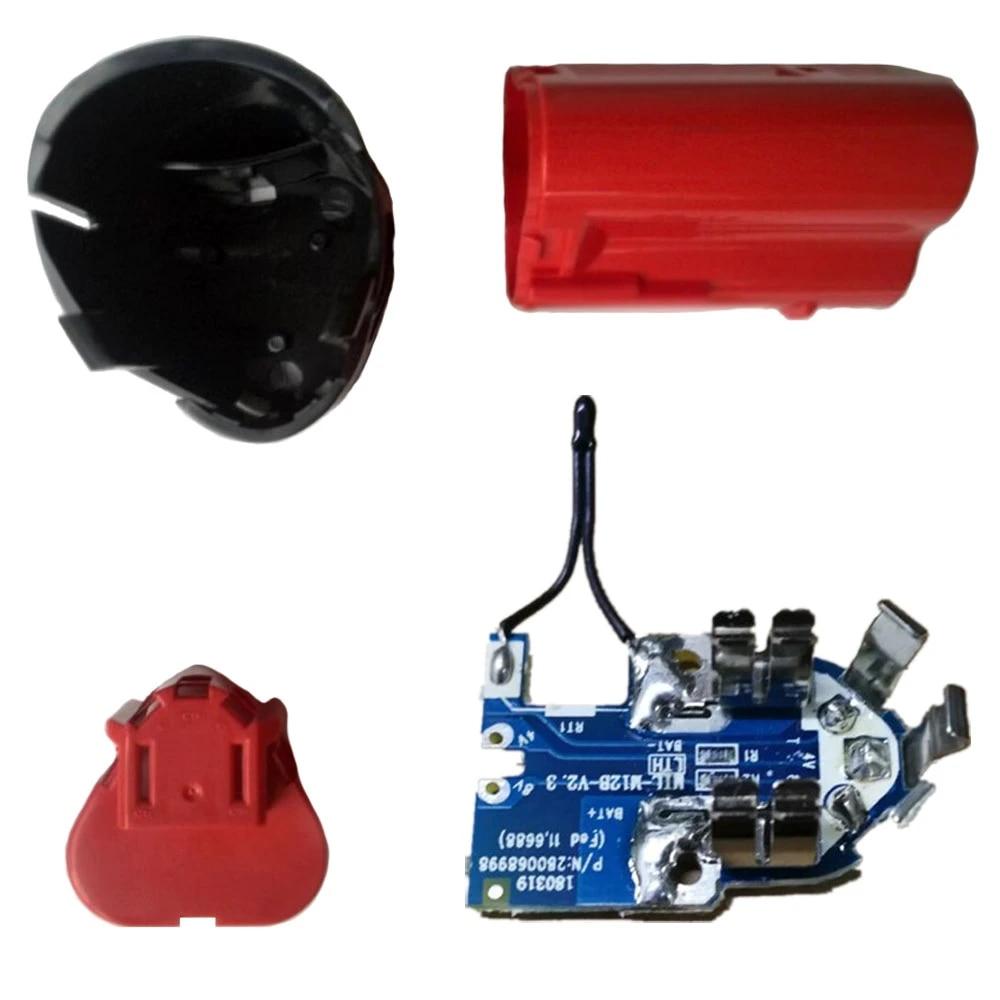 Milwaukee 12V 1.3Ah 1.5Ah 48-11-2411 M12 Li-ion Battery Battery Plastic Case PCB