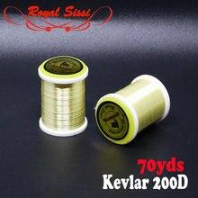 Кевларовая большая нить для мухи от бренда 1 сверхпрочная прочная