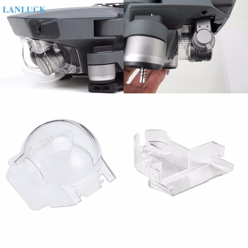 2 In 1 Camera Lens Cap Gimbal Holder Mount Guard For DJI Mavic Pro Platinum Drone Protector Parts Dust-proof Cover Cap Accessory