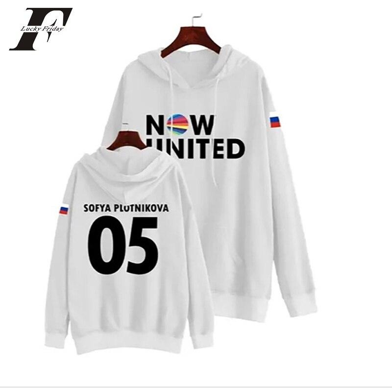 Now United Sabina Hidalgo 03 Hoodie Sweatshirts Trui Kpop Newtracksuit Streetwear Print Casual Mannen Vrouwen Printed Coat Tops 10