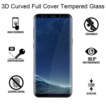 3D Curved Tempered Glass for Samsung Note 8 9 10 Note 20 Ultra Screen Protector for Samsung S8 S9 Plus S10 S20 S21 Ultra Glass 2