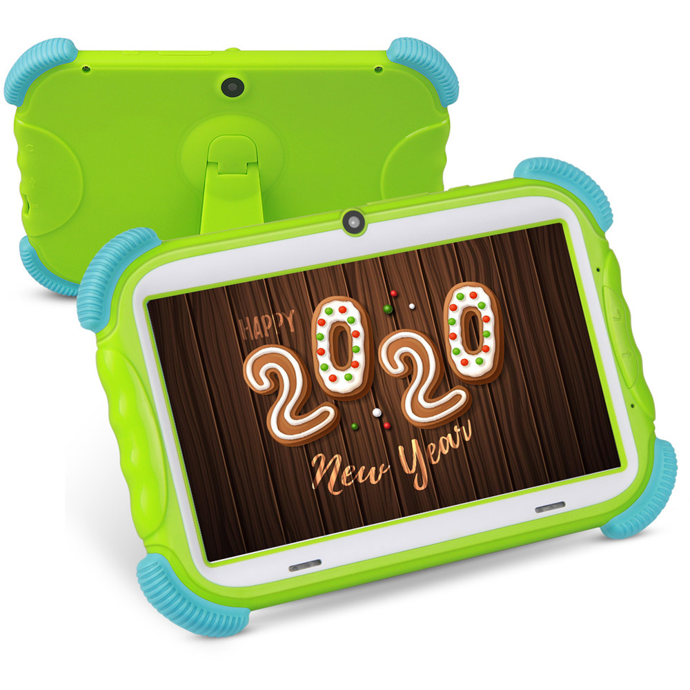 2020 Hot Sale Kids Tablet 7 Inch Android 8.1 16GB Babypad PC With Wifi And Camera GMS Certified Supported Kids-Proof Case Stand