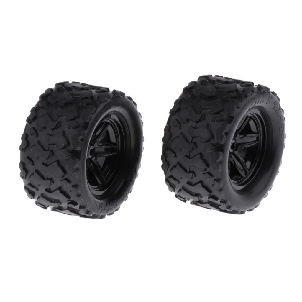 2 pièces RC voiture de course pneus 1:18 échelle RC voiture pièces de rechange durables