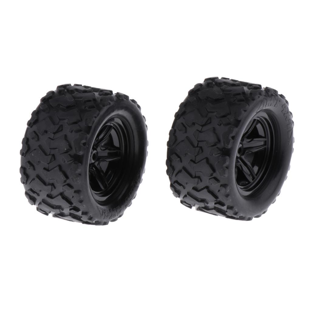 2 pièces RC voiture de course pneus 118 échelle RC voiture pièces de rechange durables