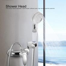 """Гальваническое ABS давление насадки для душа с фильтром ванная комната оборудование для душа G1/"""" ручной душ аксессуары для ванной комнаты douchekop"""