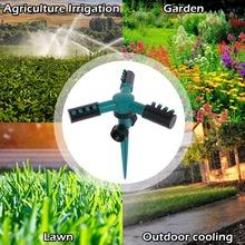Automatyczne 360 obrotowe nawadnianie ogrodu zraszacze ogrodowe zraszacze wodne sprzęt do podlewania roślin zraszacze wodne tanie tanio CN (pochodzenie) 360 napęd przekładniowy 620360