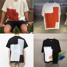 Estilo industrial uma parede fria camiseta masculina feminino 1:1 alta qualidade A-COLD-WALL camisetas oversize acw topo t streetwear