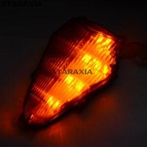 Задний фонарь, встроенные Светодиодные поворотники, задний фонарь для Yamaha YZF R6 2006-2013 2007 2008 2009 2010 2011