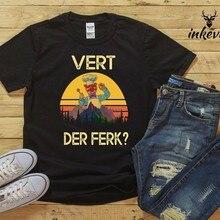 Sdish Vert Der Ferk T Shirt Chef, rétro, Vintage, cadeau de la fête des pères, vente (noir)