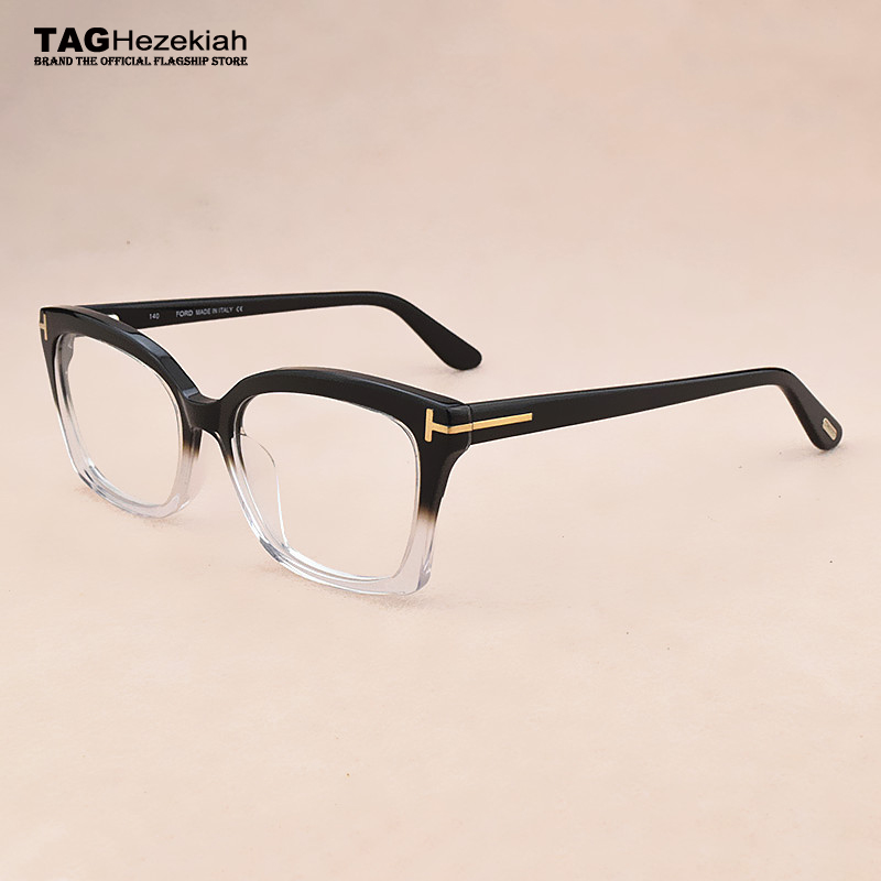 Brand Retro Computer Optical Glasses Frame Men Myopia Cat Eye Glasses Frame Women Eye Glasses Frames For Men Spectacle Frames