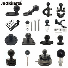 Jadkinsta 1 Inch Ballhead Adapter Holder Motorcycle Handlebar Brake Clutch Control Base