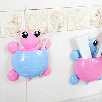 Top Selling Bathroom Decoration Accessories Children Toothbrush Holder Cute Design Turtle Sucker Hook Toothbrush Holder Cartoon Tortoise — stackexchange