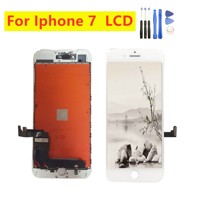 1 PCS Great AAA+++ Qaulity For iPhone 7 LCD Display Touchscreen Digitizer Assembly For Apple iPhone 7 A1660 <font><b>A1778</b></font> A1779 Screen image