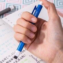 Gommes en caoutchouc en forme de crayon, gomme de dessin artistique rétractable créative pour étudiants, fournitures de papeterie scolaires