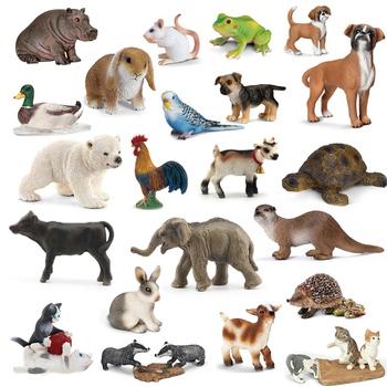 Oryginalne oryginalne dzikie życie zoo jungle farm model zwierząt serii 2 kogut koza kaczka wydra dzieci edukacyjne zabawki dla dzieci prezent tanie i dobre opinie NewBiFo Żołnierz gotowy produkt Żołnierz zestaw Żołnierz części i podzespoły elektroniczne Wyroby gotowe Unisex