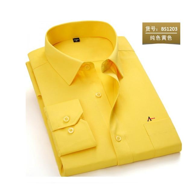 2020 reserva aramy New men shirt Long Sleeve Men Dress Shirt Fashion Male Business Formal Wear Office Working Shirts white shirt 6