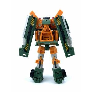 Image 4 - Carré magique ms jouets Transformation MS B10 MS B10 palan grue Mode Mini baladeur poche guerre Action figurine Robot jouets cadeau