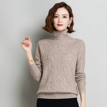 Women Textured Cashmere Sweater Winter Pink Beige Camel Ripple Knitwear Lady Sheep Wool Sculptured Knitted Top Jumer Mujer Pull printio pink sheep