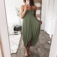 Pregnancy Long Dress Sexy Women Solid Nursing Summer Sleeveless Dresses Photography Props Premama Dress Pregnant Plus Size