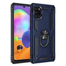 Etui na telefony do Samsung Galaxy A01 A11 A31 A41 A51 A21 A71 A70E A21S M11 mody anty spadek odporny na wstrząsy pierścień magnetyczny uchwyt pokrywy tanie tanio NoEnName_Null CN (pochodzenie) Aneks Skrzynki Magnetic stand anti-drop phone case Galaxy A71 Galaxy A21s Galaxy A41 Galaxy M31