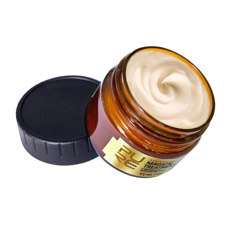 PURC Уход за волосами маска для волос с глубоким восстановлением Кератиновый Уход за волосами маска 5 секунд ремонтировать поврежденные воло...
