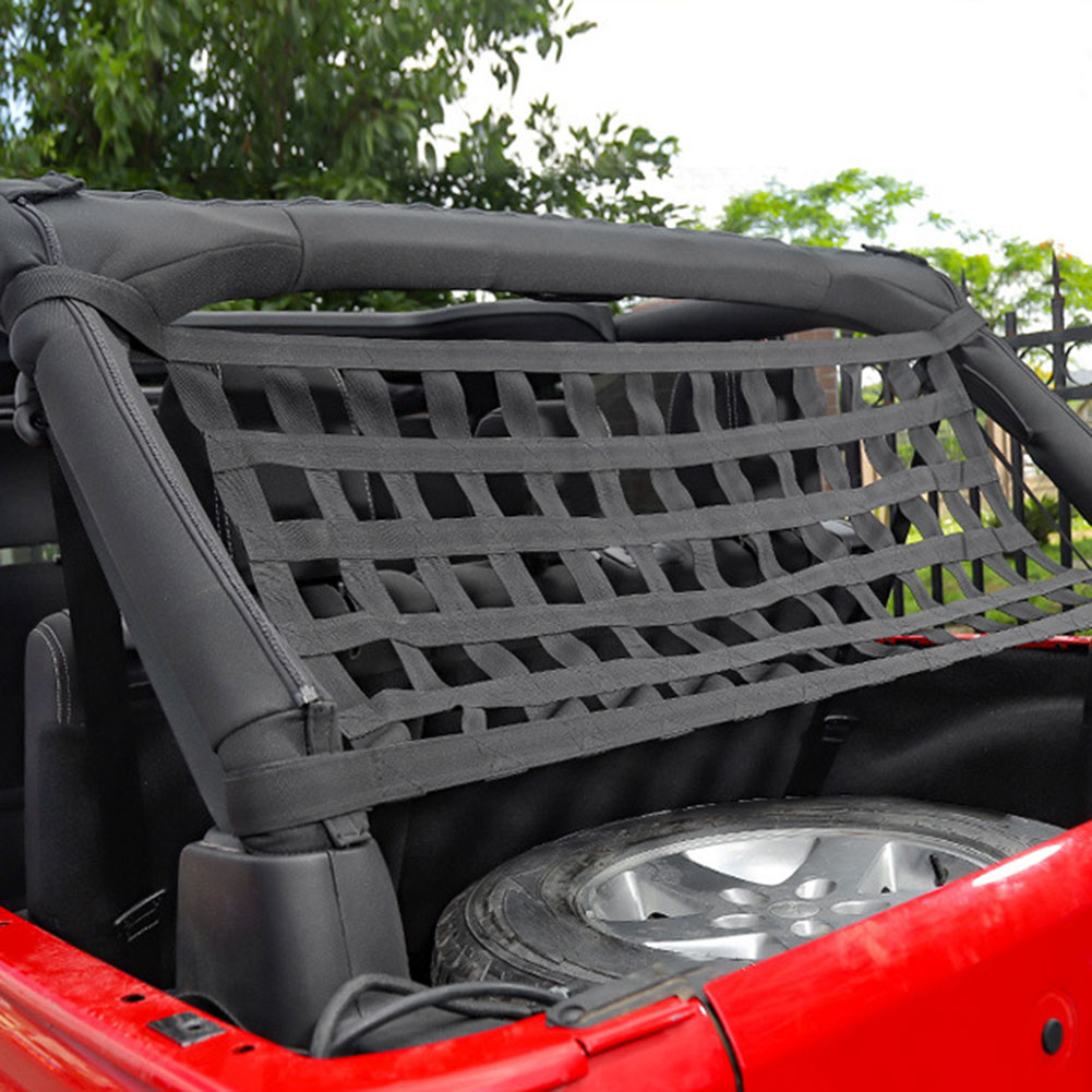 Car Top Roof Storage Nets Breathable Comfortable Hammock Bed Network Cover for Jeep Wrangler TJ JK JL 1997-2018 Car Accessories