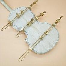 Инструменты для скрипки, 3 шт. латунь ремонт трещин отладки зажимы, инструменты для ремонта струнных инструментов