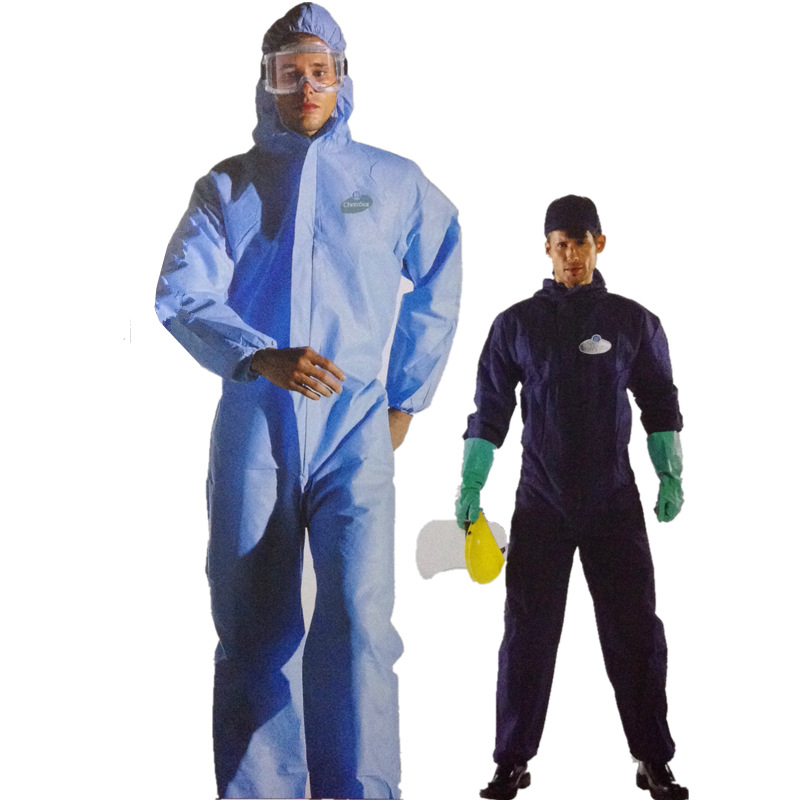 [Thinking And Sir Safe Protection] Three Layer Polypropylene Fabric One-piece Chemical Protective Clothing/Anti-static/Import Pr