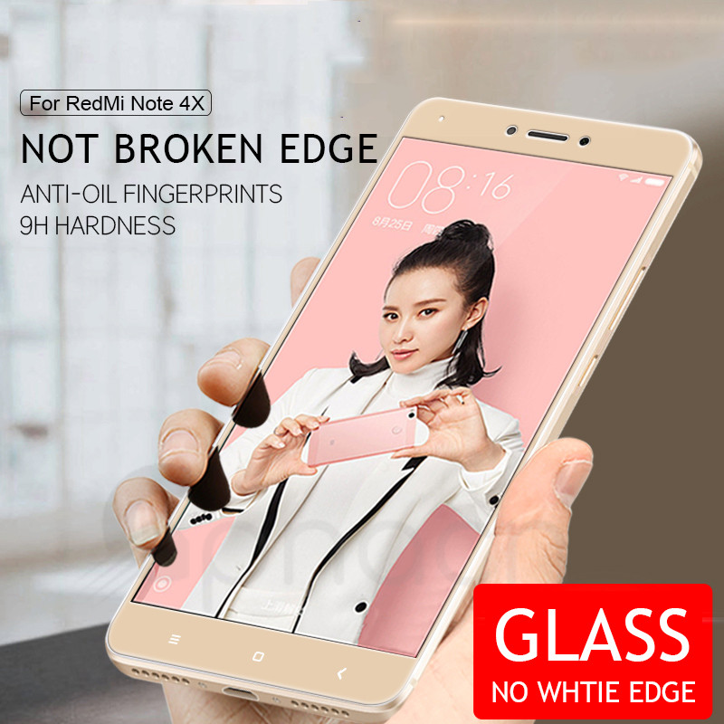 Image 3 - 9D Protective Glass For Xiaomi Redmi Note 4 4X 5 5A Pro Screen Protector For Redmi 5 Plus S2 4X 5A Tempered Glass Film Case-in Phone Screen Protectors from Cellphones & Telecommunications