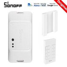 SONOFF – commutateur Wifi intelligent RFR3, module domotique, contrôle de minuterie RF 433, à monter soi-même, Compatible avec eWelink Google Home Alexa