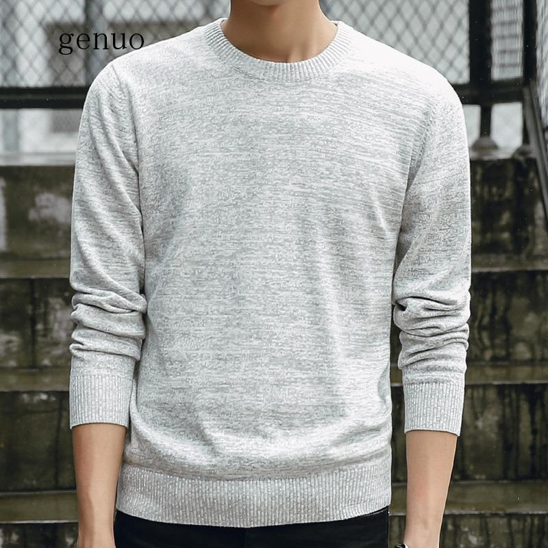 Men Sweaters 2020 Autumn Winter Fashion Casual Slim Fit Cotton Knitted Mens Sweaters Pullovers Men Brand Clothing Knitwear