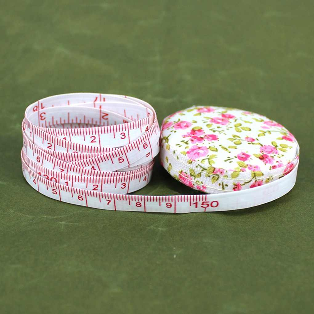 Body Measuring Tape Ruler Sewing Cloth Tailor Retractable Measure Soft Flat AL