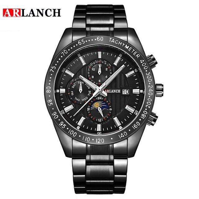 Фото часы наручные arlanch мужские кварцевые модные брендовые спортивные цена