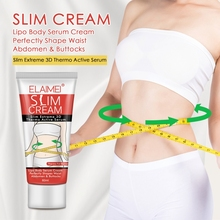 60ml Slimming Cream Weight Loss Burning Fat Cellulite Massage Cream Reduce Abdomen Thighs Hip Fast Shape Waist Body Whitening