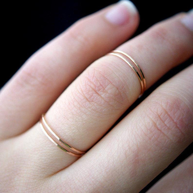 Retro Stainless Steel Rings For Women Men Titanium Ring Korean Style Dating Couple Rings Jewellry Simple Fashion Jewelry R826 1