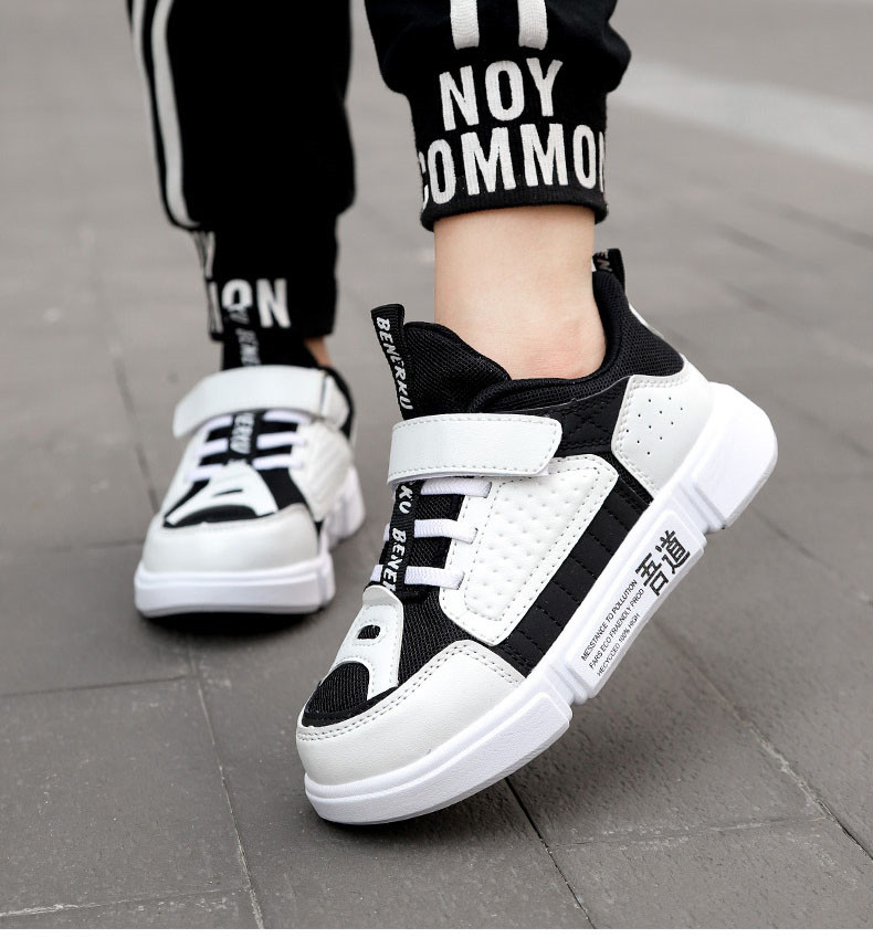 PINSEN 2019 Autumn Kids Sneaker Girls Shoes Fashion Breathable Casual Light Sports Running Shoes For Boys Brand Children Shoes (15)