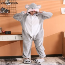 Kigurumi halloween Christmas men women Cosplay gray mouse Onesies Party Pajamas Pyjamas costumes carnival costume pink unicorn cartoon animal onesies pajamas costume cosplay pyjamas adult onesies party dress halloween pijamas